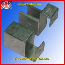 China Metal Stamping Parts, Metal Bracket (HS-MT-0002)