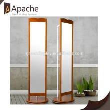 Factory directly High Quality Fashion Wooden clothing mirror