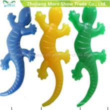 Venta al por mayor TPR Lagarto Sticky Toys Party Favors Novedad Juguetes