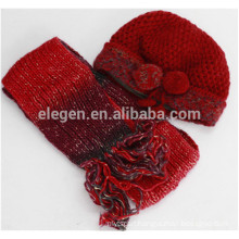 Women new design made in China Fall/Winter Knitted Marching hats