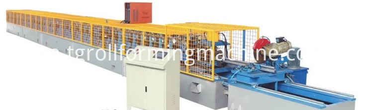Ninefold Profile Electric Cabinet Roll Forming Machine
