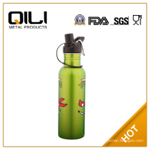 Eco-friendly double wall 18/8 stainless steel Vauum flask in flower design