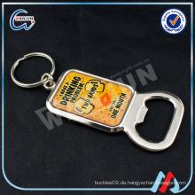 Keychain Großhandel mit benutzerdefinierten Flaschenöffner