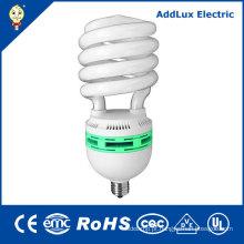Bulbos fluorescentes compactos espirais de 65W 85W E27 E40