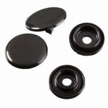 Fashion customer color plastic snap button for clothing