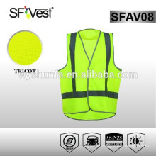 2015 New Products Cheap Reflective Workwear Reflective Safety Straps Vest For Road Worker