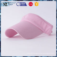 Latest product low price printed visor caps in many style