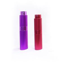 Flacon pulvérisateur de brouillard de parfum de voyage portable en aluminium
