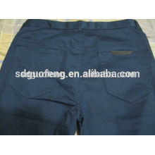 Shandong mode nouveau style chinos hommes / hommes chino pantalons / Multi couleurs adaptées mode chinos 100 coton forage tissu