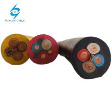 VDE BS IEC fio de borracha de silicone flexível e cabo ho7rn-f