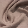 Good quality solid dobby 100% rayon fabric