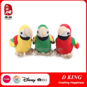 En71 Padrão Plush Parrot Soft Toys Animal recheado