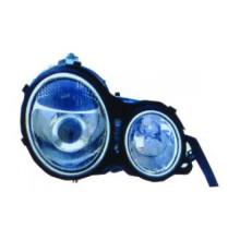 Lámpara de cabeza auto para Benz W210 '95 -'98 (CRISTAL) Blanco (LS-BL-059)