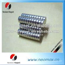 Спеченный неодимовый маленький тонкий круглый магнит