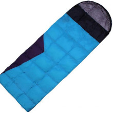 Envelope Hooded Outdoor Supplies Wholesale Feather Sleeping Bag