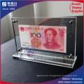 China 1 & 100 RMB Acryl Currence Rahmen