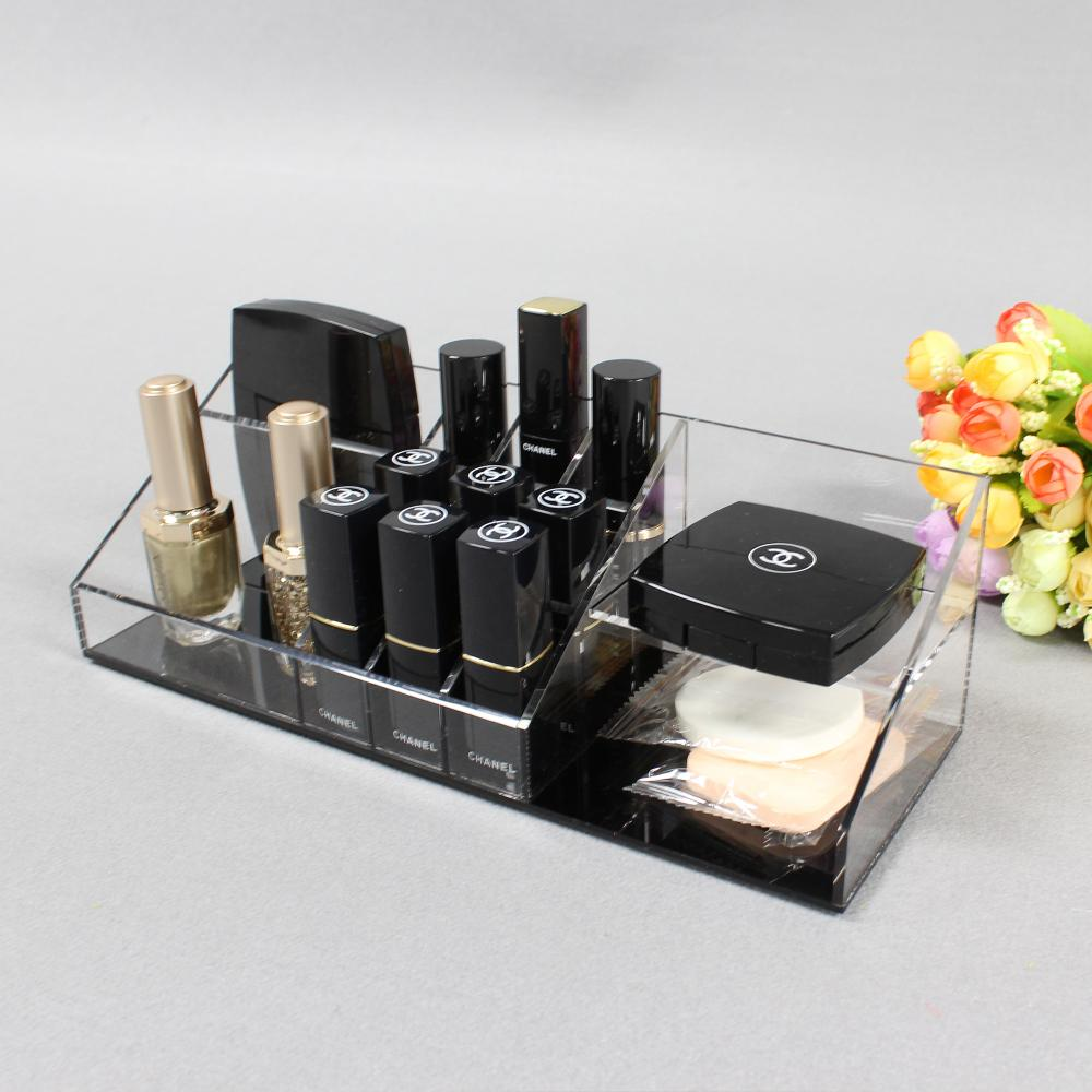 Clear Plastic Cosmetic Makeup Holder