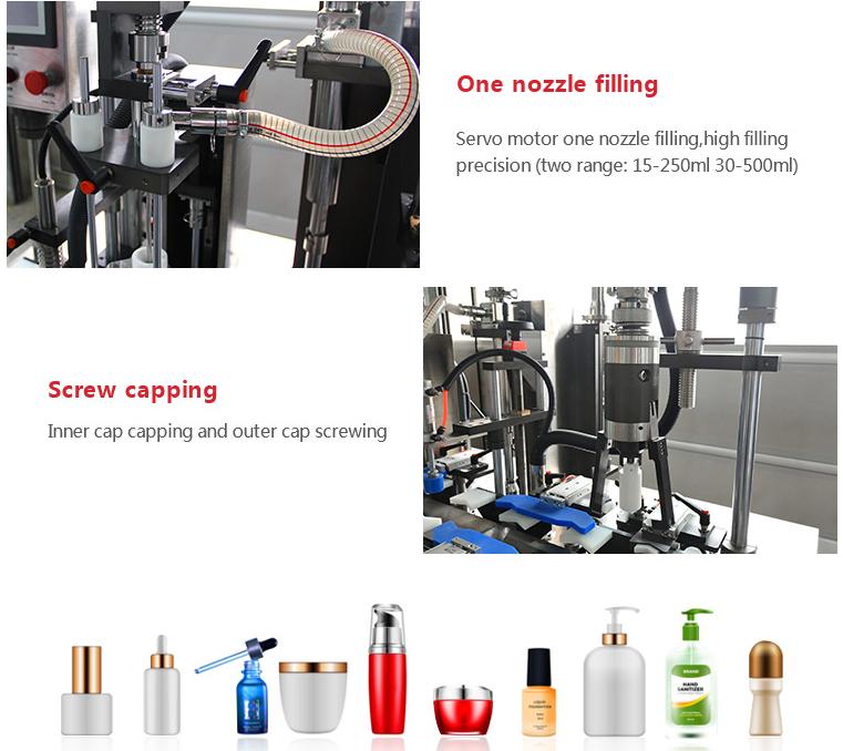 filling machine detail