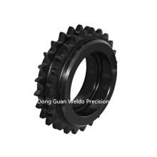 Fabricação de alta qualidade polia de roda dentada de passo duplo