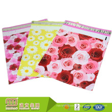 100 Pack Various Size 10X13 Inch 2.5Mil Pdf Accept Custom Rose Patterned Poly Mailer
