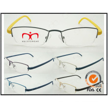 Hot Selling Colorful Tr90 Temples Metal Optical Frames (WRM503029)