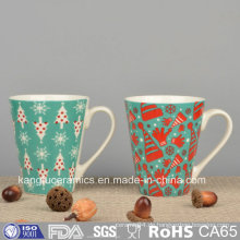 Günstigen Preis OEM Aufkleber Design Keramik Becher