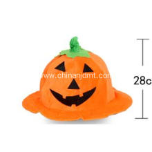Yellow  pumpkin witch hat