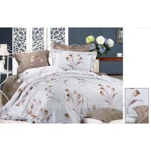 Chinexe textile, tissu textile domestique, literie jacquard en coton tissé