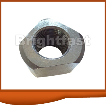 Triangle nuts  zinc plated