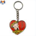 Llavero personalizado de regalo de promoción con amuletos
