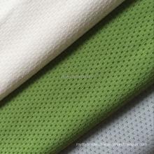 Weft knit seamless underwear wicking finish 90% polyamide 10% elastane butterfly mesh underwear fabric