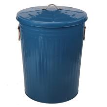 Caja de metal de acero galvanizado 75L para bote de basura de jardín