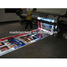 Printable advertising grade reflective sheeting