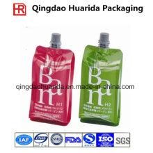 Многоразовая пластиковая еда мешок spout для сока и желе