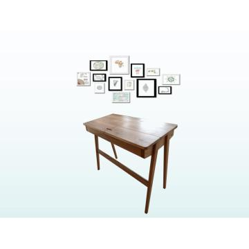 Modern Oak Writing Table Home Office