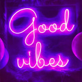 LETTRE NEON GOOD VIBES