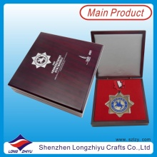 Big Medallion Award Yachting Race Medals Silver Knighthood Medal (lzy00046)