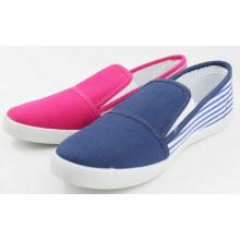 Chaussures en toile à injection PVC (SNC-0060)