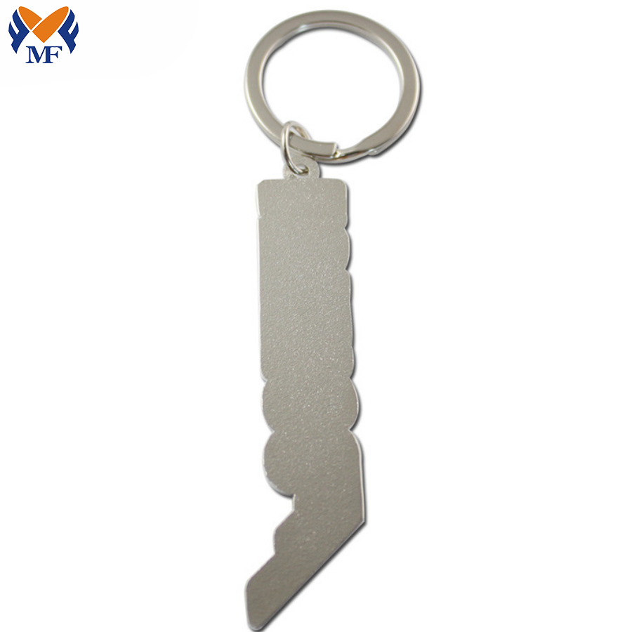Letter Charm Keychain