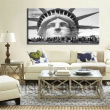 """Large Painting Status of Liberty stretcher frame canvas prints 24""""x48"""""""