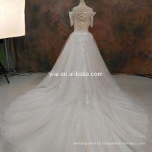 RSW1090 Lace Binder Wedding Dresses Neckless Dresses