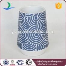 YSb50034-01-t Moderno vaso de accesorios de baño de porcelana