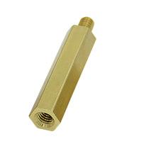 Écrou d'accouplement long hexagonal en laiton personnalisé