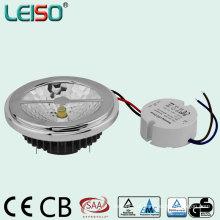 Driver externo regulável LED AR111 com o mesmo tamanho de halogênio