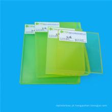 Placas claras transparentes abrasivas do plutônio da espessura de 40mm
