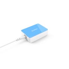 Multi carregador de desktop USB de 6 portas carregamento de velocidade super para Apple Android, design de moda colorido