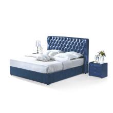 Mobília de cama de couro moderna