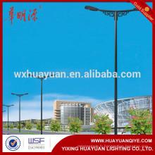 Pôle de lumière conique à double bras de 8 m à 12 m