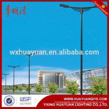 8m-12m double arm square tapered light pole
