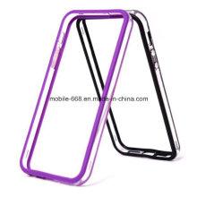 Nueva caja clara del parachoques del silicón TPU para el iPhone 5 5s 5c